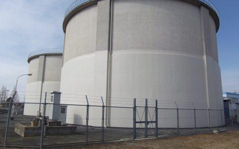 浄水場 耐震改修工事